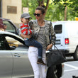 Inspiration: Miranda Kerr's Mom-on-the-Go Style