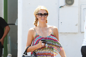 Found: Paris Hilton's Colorful Chevron Maxi Dress