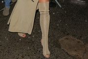 Kim Kardashian Over the Knee Boots