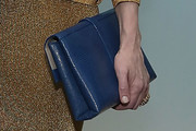 Cate Blanchett Leather Clutch