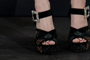 Jennifer Lawrence Platform Sandals