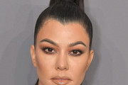 Kourtney Kardashian Ponytail