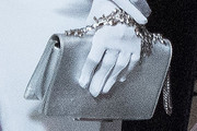 Angelina Jolie Metallic Clutch