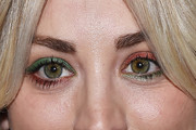 Kaley Cuoco Jewel Tone Eyeshadow