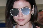 Lucy Hale Square Sunglasses