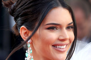 Kendall Jenner Twisted Bun