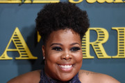 Amber Riley Afro Puff