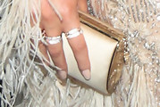 Chrissy Teigen Tube Clutch