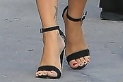 Megan Fox Strappy Sandals
