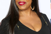 Niecy Nash Long Straight Cut with Bangs