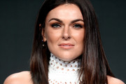 Serinda Swan Medium Straight Cut