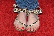 Lena Headey Flat Sandals
