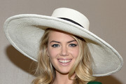 Kate Upton Wide Brimmed Hat