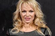 Pamela Anderson Long Curls with Bangs