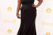 Adrienne C. Moore Strapless Dress