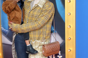 Kelly Rowland Quilted Leather Bag