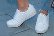 Cara Santana Leather Sneakers