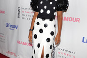 Kerry Washington Print Dress