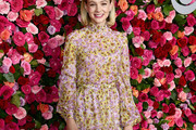 Carey Mulligan Print Blouse