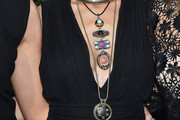Nicole Richie Oversized Pendant Necklace
