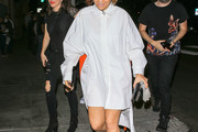 Rita Ora Shirtdress