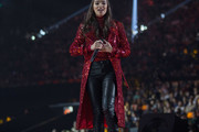 Hailee Steinfeld Evening Coat