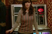 Zooey Deschanel Crewneck Sweater