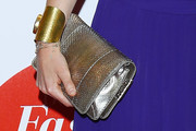 Princess Beatrice Metallic Clutch