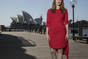 Jessica Chastain Fishtail Dress