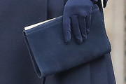 Kate Middleton Suede Clutch