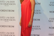 Eva Mendes One Shoulder Dress