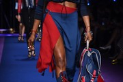 Naomi Campbell Knee Length Skirt