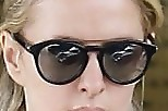 Nicky Hilton Round Sunglasses