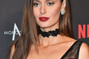 Nicole Trunfio Long Straight Cut