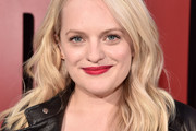 Elisabeth Moss Long Wavy Cut