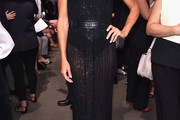 Kelly Bensimon Sheer Dress