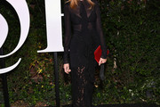 Lauren Santo Domingo Sheer Dress
