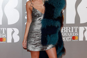 Mollie King Fur Scarf