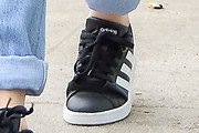 Rachel Bilson Leather Sneakers