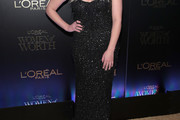 Ashley Benson Beaded Dress