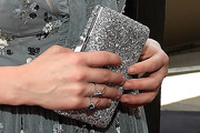Carly Rae Jepsen Metallic Clutch