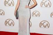 Christian Serratos Evening Dress