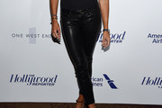 Kelly Bensimon Leather Pants