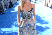 Jennifer Aniston Print Dress