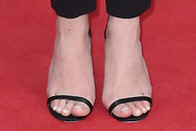 Emily VanCamp Strappy Sandals