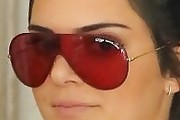 Kendall Jenner Designer Shield Sunglasses