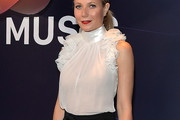 Gwyneth Paltrow Ruffle Blouse