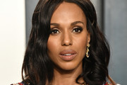 Kerry Washington Medium Wavy Cut