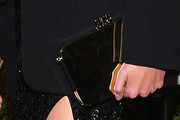 Karlie Kloss Metallic Clutch