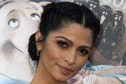 Camila Alves Braided Updo